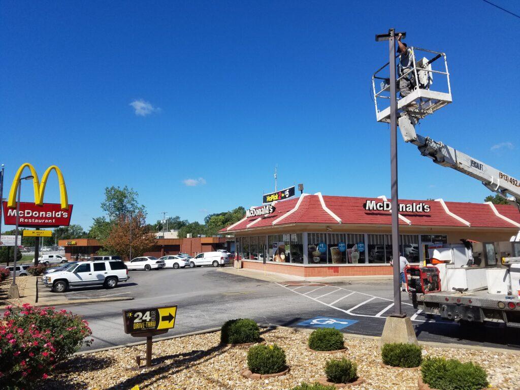 1000 watt parking lot LED replacement