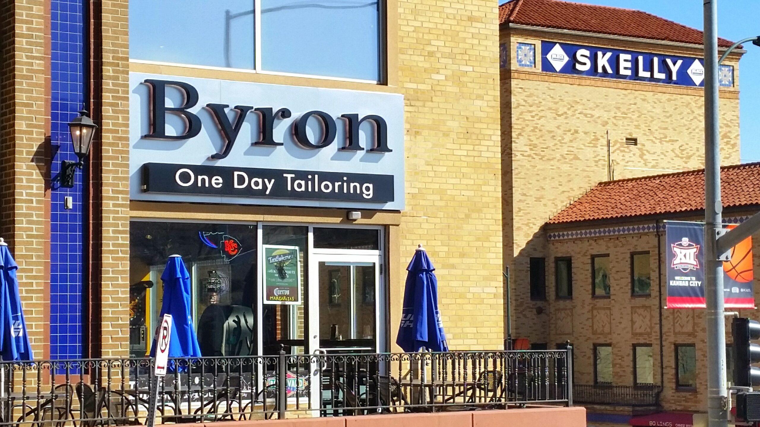 byron signage
