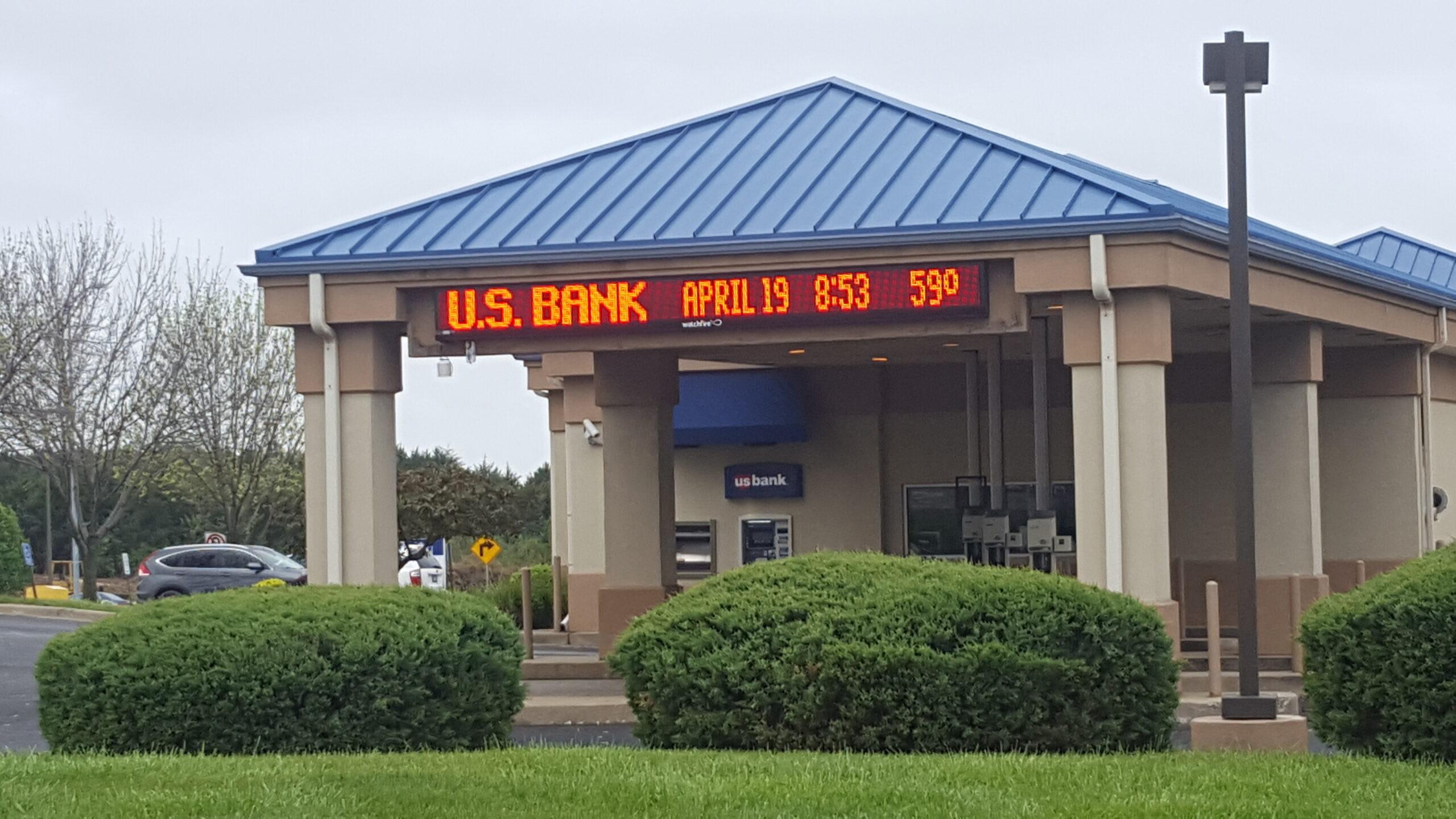 US Bank signage