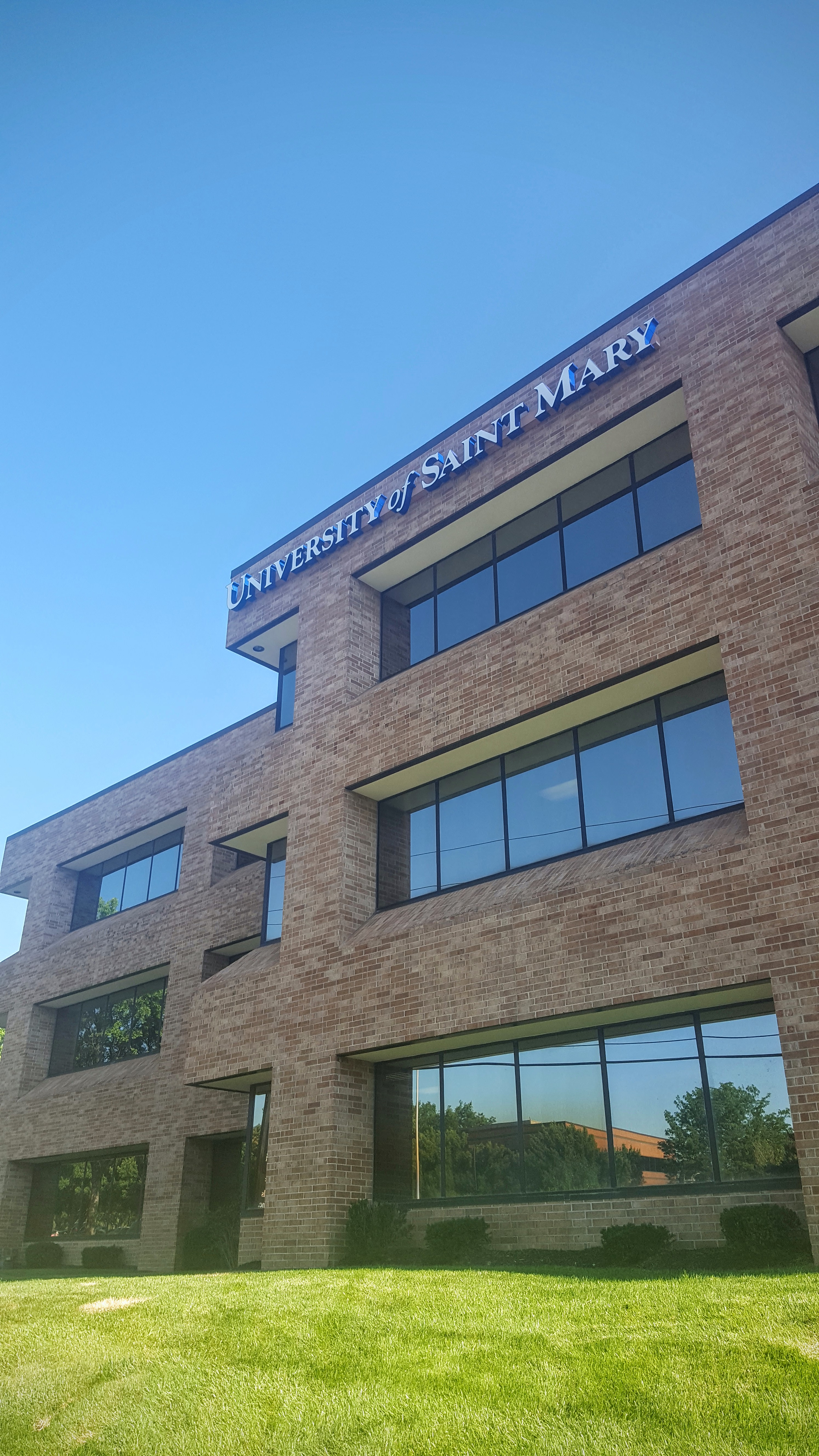 University of St Marys Overland Park campus signage -