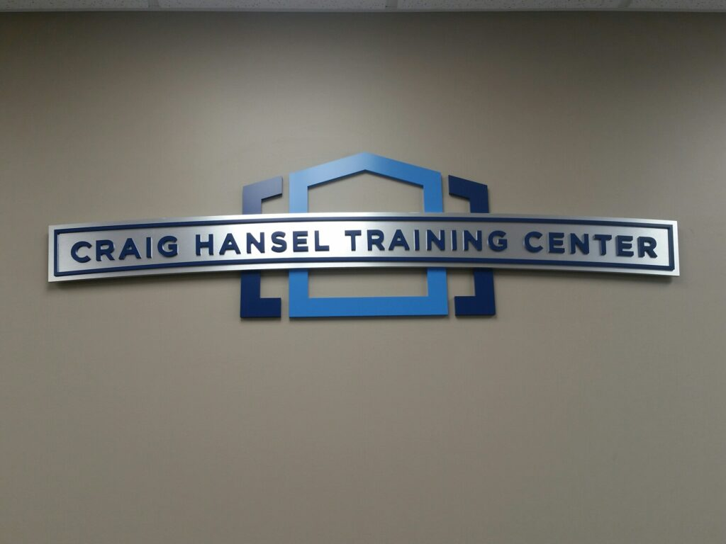 hansel-training-sign