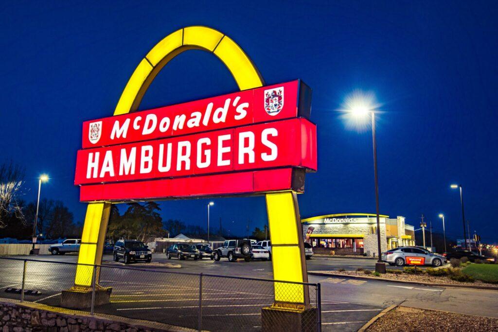 McDonalds Vintage Sign LED retrofit